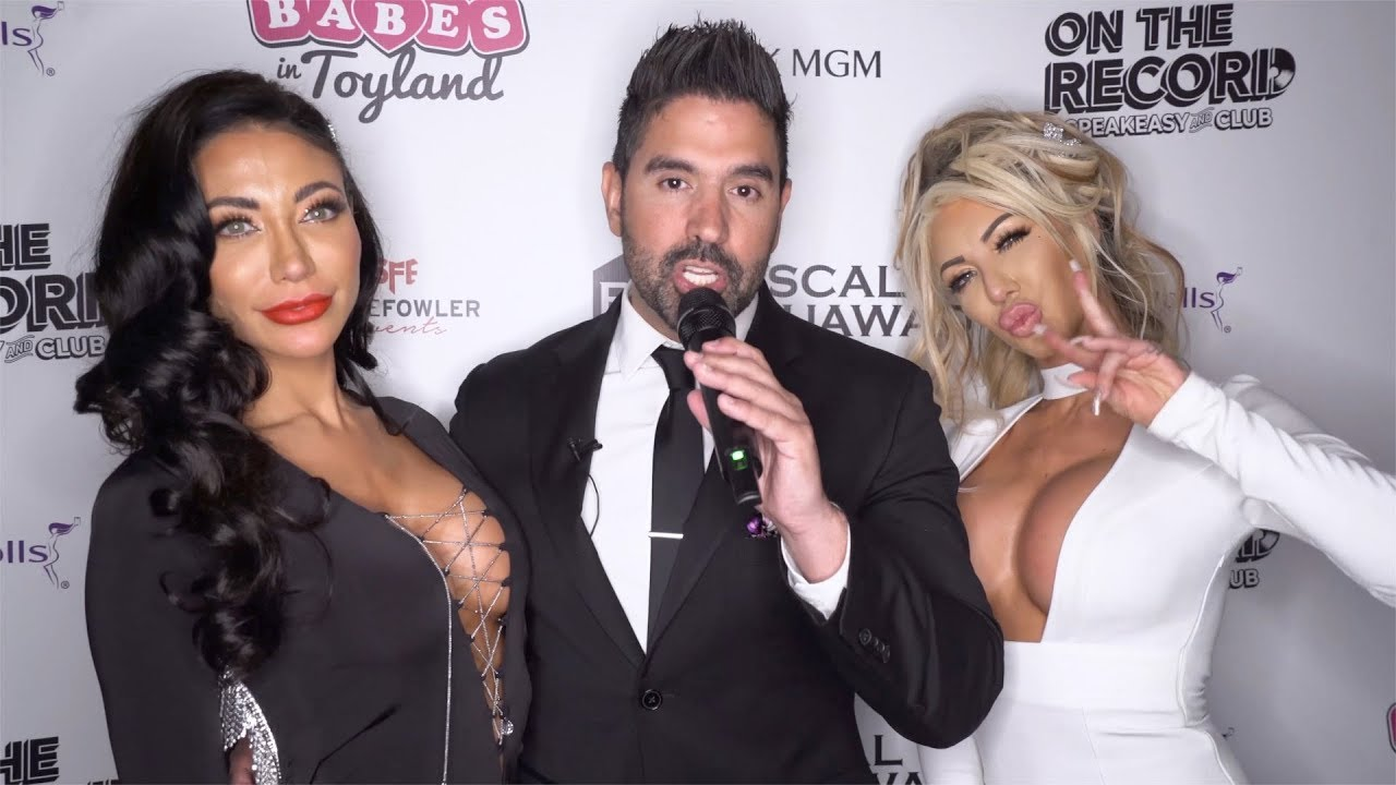 Tatiania Eriksen and DJ e11v3n Interview 2019 Babes in Toyland Las Vegas Toy Drive Red Carpet