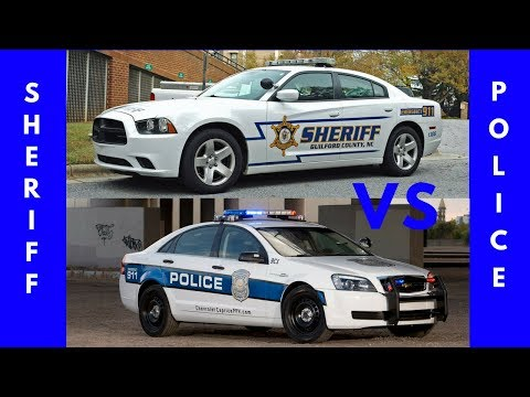 POLICE VS SHERIFF | WHAT IS THE DIFFERENCE BETWEEN DEPUTIES AND POLICE OFFICERS