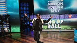 Snoop Dogg Gets a High Score with a Game of 'Snoop Ball'