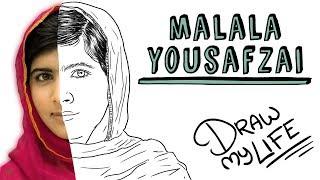 LA INCREÍBLE Hª DE MALALA | Draw My Life