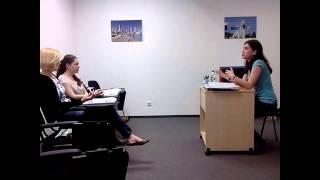 Урок английского языка в группе для двоих уровень (intermediate) Los Angeles English School