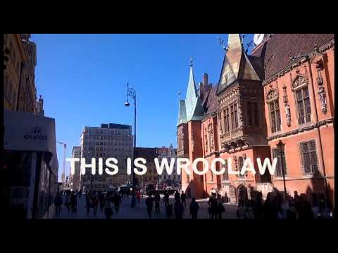 This is Wroclaw city centre (Poland)