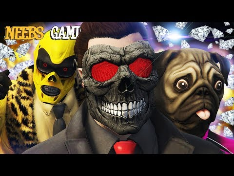 GTAV - SUPER DIAMOND THIEVES  |  Grand Theft Auto 5 Cinematic Series