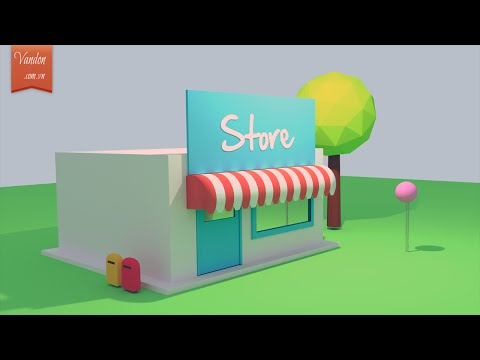 Making a lovely house in Blender 3D 2.77 – Blender Tutorial For Beginners