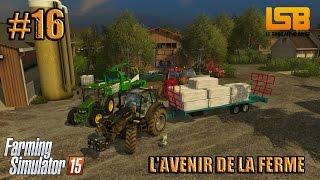 RôlePlay | L'avenir de la ferme #16 | On enrubanne + cache-cache!  | Farming simulator 15