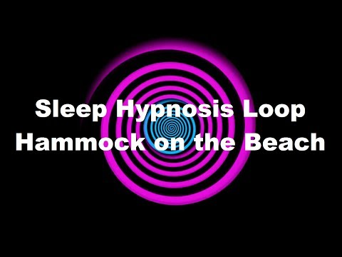 Sleep Hypnosis Loop: Hammock on the Beach