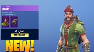 *NEW* HACIVAT SKIN & ANIMATED GLIDER & RARE EMOTE BACK (Fortnite Item Shop September 14)