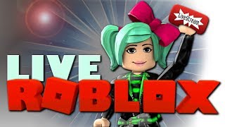 Roblox LIVE Playing YOUR Creations! Day 29 of Streamtober!