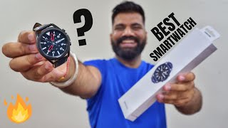 Samsung Galaxy Watch 3 Unboxing & First Look - ECG, BP, Fall Detection and More