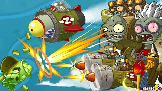 Plants Vs Zombies 2: Sky Castle World Mini Game Air Force Sky War! (PVZ 2 China)
