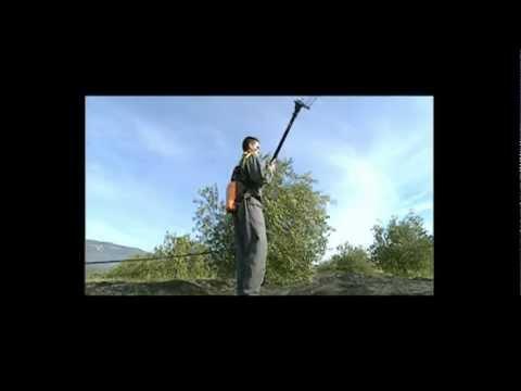 PELLENC Olivium - the Olive Shaker Rake