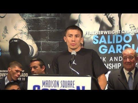 Gennady Golovkin-Gabe Rosado press conference