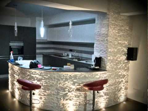 Rivendita di rivestimento in pietra Ricostruita.www.vetrina2000.it--tel3394773834 - YouTube