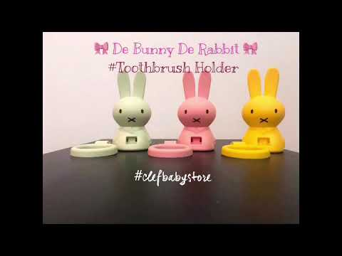 De Rabbit De Bunny Toothbrush Holder
