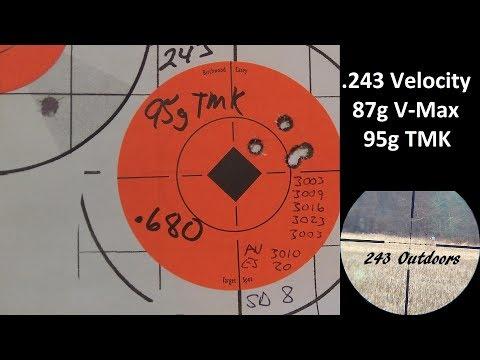 243 Velocity 87g V-max & 95g TMK - YouTube