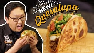 Bacon Stuffed Quesalupa