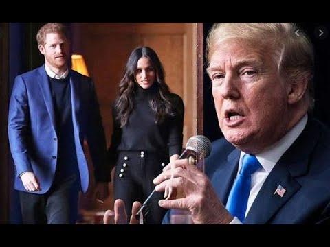 Meghan Markle et Donald\: la rencontre qui n\'aura jamais eu lieu.et c\'est bien comme cela.