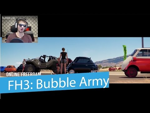 Forza Horizon 3: Isetta Bubble Car - Army!
