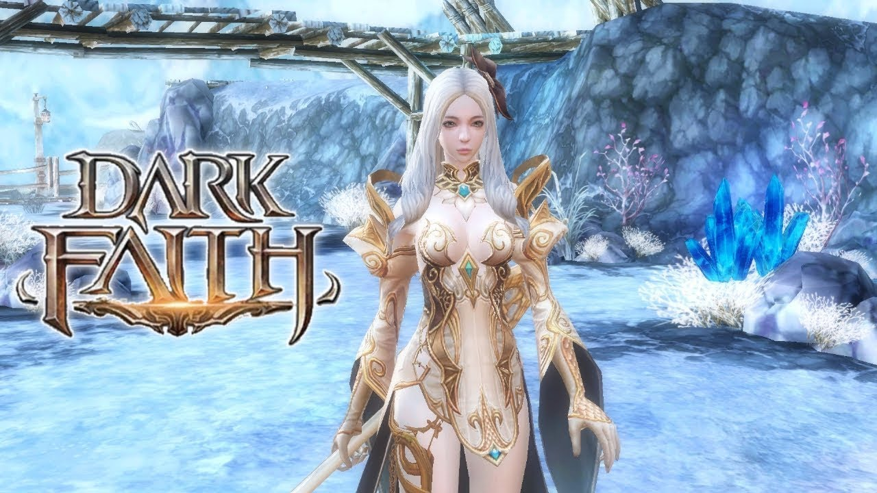 Dark Faith Gameplay (OPEN WORLD MMORPG) Android/IOS