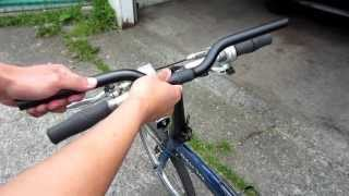 Dahon Folding Bicycle Handlebar Modification