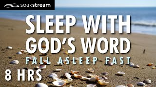 SLEEP WITH GOD'S PROMISES ON BY THE SEA | 100+ Bible Verses For Sleep | Soaking Worship Music