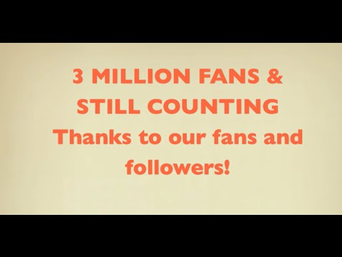 3 Million Facebook Fans & Still Counting