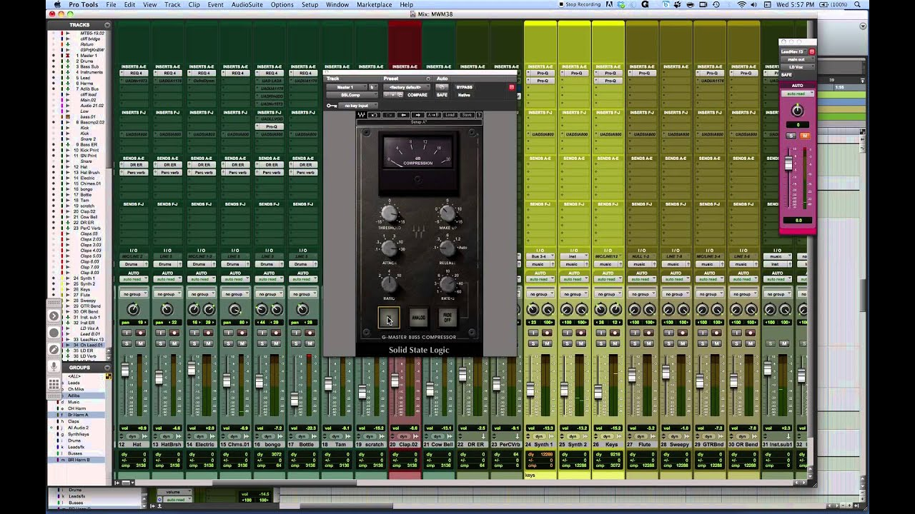 mixing with mike plugin of the week waves ssl buss compressor youtube. Black Bedroom Furniture Sets. Home Design Ideas