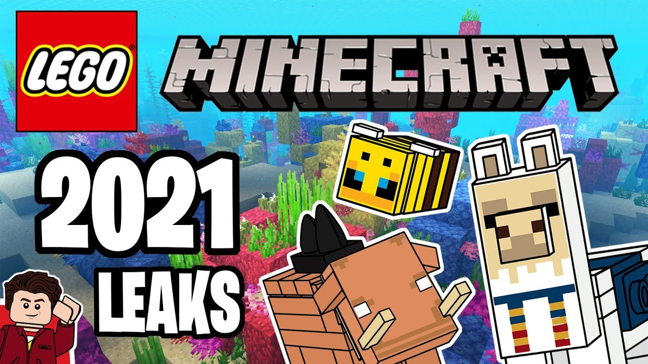 LEGO Minecraft 10 Leaks  Bees, Llamas and the Nether Update!!!