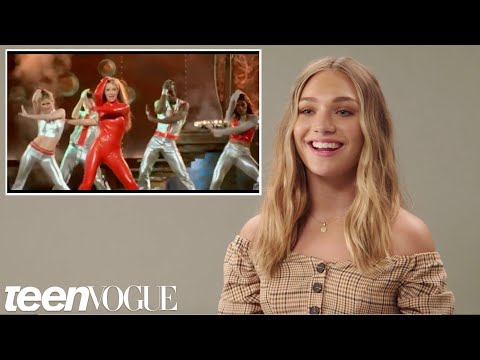 Maddie Ziegler Tries Iconic   Dances  Teen Vogue