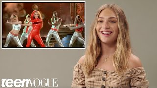 Maddie Ziegler attempts to recreate famous music video dances by Beyoncé, Britney Spears, Justin Bieber, NSYNC, Michael Jackson, Weezer and more.