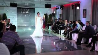 Свадебное платье Эмилия + болеро Эми (Дом моды BELFASO 2014)