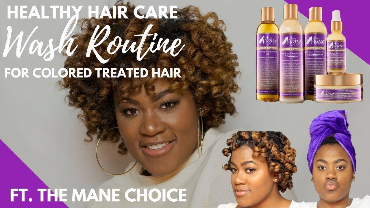 HEALTHY HAIR CARE ROUTINE | BLONDE HAIR