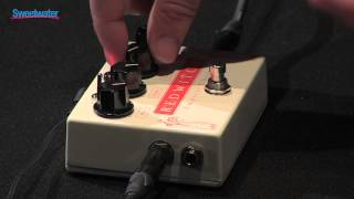 Red Witch Empress Chorus Effects Pedal Demo - Sweetwater Sound