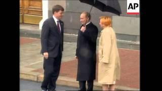 WRAP Leaders arrive at Kremlin for VE Day commemoration
