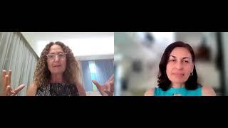 Nitza Kardish with Professor Masha Niv