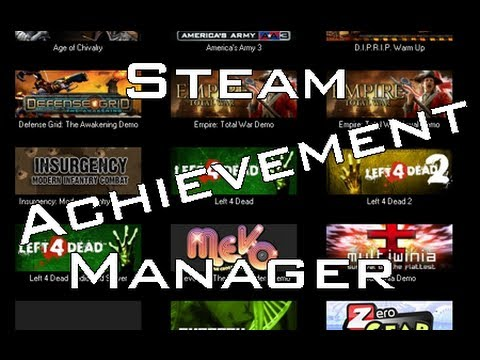 how to get all steam achievements for games
