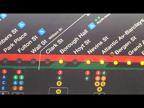 NYC Subway LN: On-Board R142 # 6781 On The (2) From Franklin St To Nevins St-VIA Bowling Green Pt I