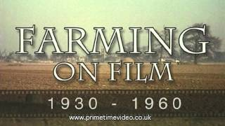 Farming Archive in Lincolnshire 1930s to 1960s