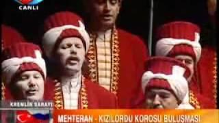 Mehteran Takımı ve Kızıl Ordu Gülnihal ve Kalinka