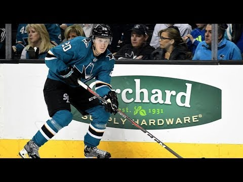 Marcus Sörensen 17/18 NHL Highlights   San Jose Sharks