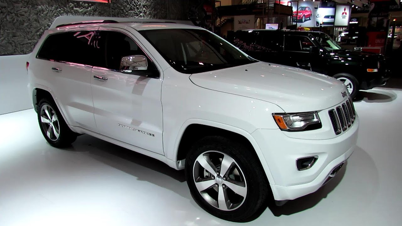 2014 Jeep Grand Cherokee Overland   Exterior And Interior Walkaround   2013  Toronto Auto Show   YouTube