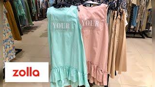 Яркая супер красивая новая коллекция Zolla шоппинг влог Обзор г Новосибирск