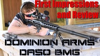 Dominion Arms DA50 First Impressions Review