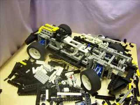 lego car builds itself 2 technic 8880 youtube. Black Bedroom Furniture Sets. Home Design Ideas