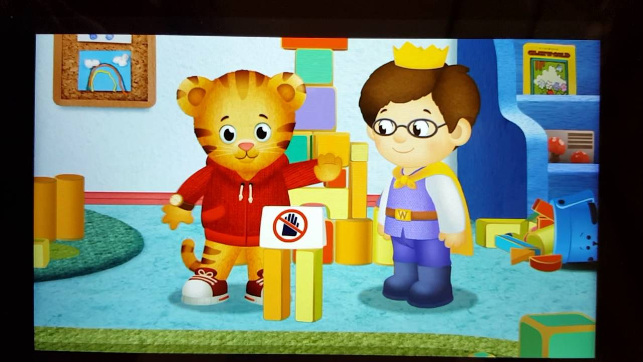 Stop And Go To The Potty Daniel Tiger