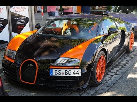 Bugatti Veyron Grand Sport Vitesse World Record Car Edition in Hannover!