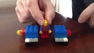 Lego Sawing in Half Magic Illusion Thumbnail