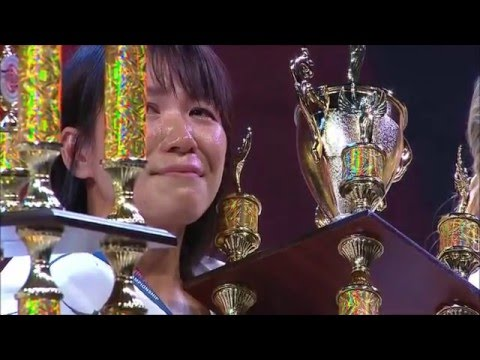 Финал Чемпионата мира по Карате Киокусинкай 2015 женщины 60 кг