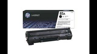 HP 85A Black Original LaserJet Toner Cartridge