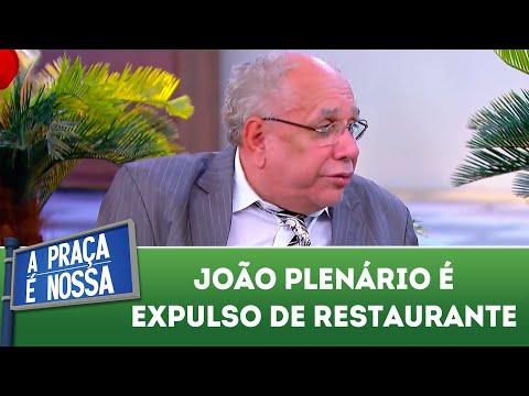 João Plenário é expulso de restaurante | A Praça é Nossa (19/07/18)